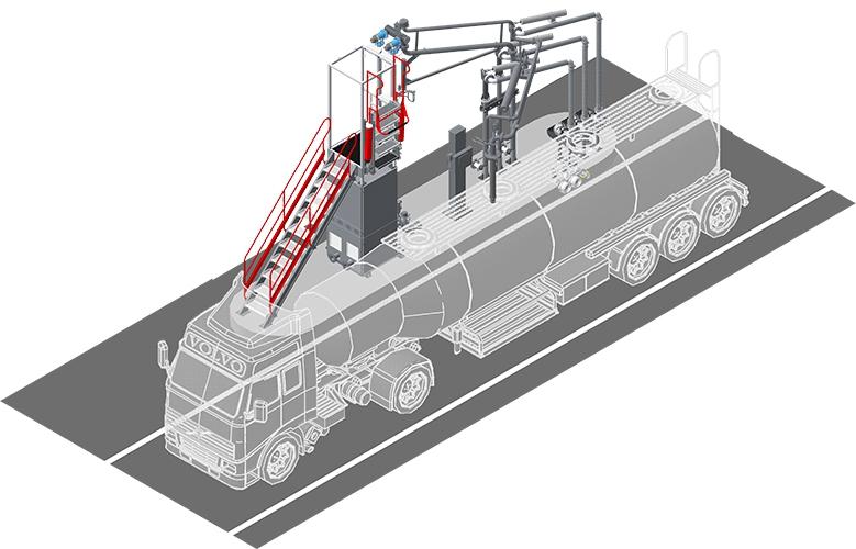 АСН-6ВНГ модуль Ду100 1/2 (АСН-15ВН1/2: (АСН-15В/2) / АСН-15Н)  (правый)