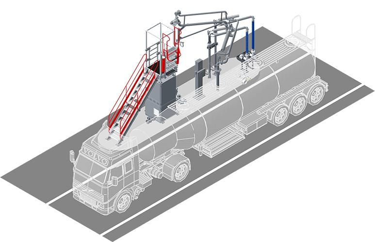 АСН-6ВНГ модуль Ду100 (АСН-15ВН1: АСН-15В / АСН-15Н) (правый)